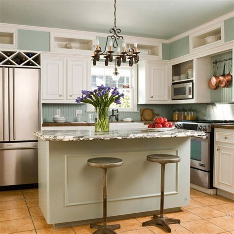fotos de cocinas pequenas  isla ideas  decorar
