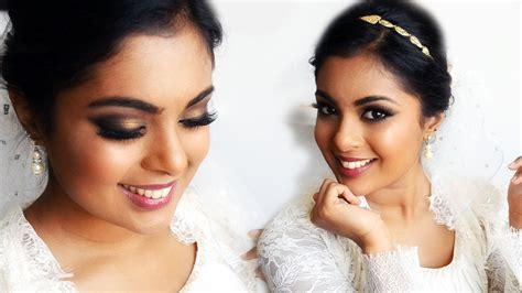 pretty indian christian bridal makeup ideas