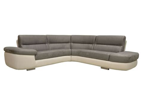 plaide pour canapé d angle canapé d 39 angle fixe droit 4 places alban coloris blanc