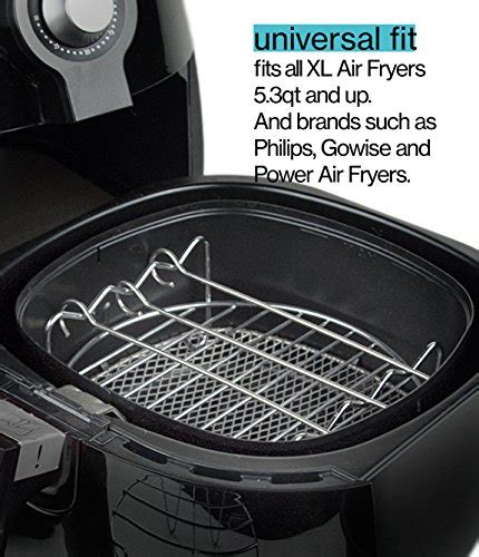 fryer xl air power airfryer recipe deluxe phillips gowise accessory cook 8qt qt 3qt kitchen