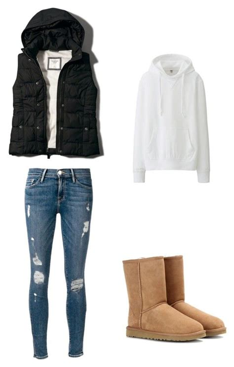 U0026quot;Fall puffer vest outfit with hoodie and uggsu0026quot; by ngabby10 ...