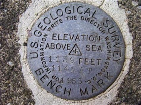 Us Geological Survey 1956 Benchmark, Jamestown, Pa Us