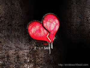 Sad Heart Wallpaper Free Download
