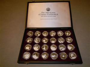 The Milestones of Space Exploration $50 Silver Proof Coin ...