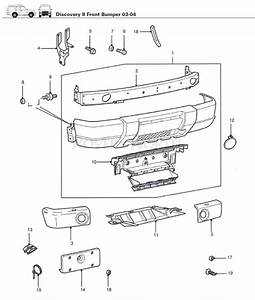 Discovery Ii Front Bumper 2003-2004