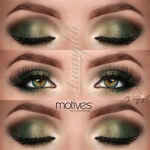 Green Makeup For Green Eyes  Triiangleh U0026 39 Smakeup