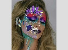 25+ best Carnival makeup ideas on Pinterest Colorful