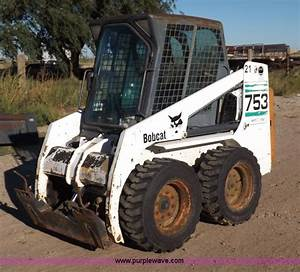 2002 Bobcat 753 Skid Steer