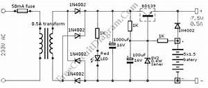 7 5v Uninterruptible Power Supply  U2013 Circuit Wiring Diagrams