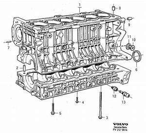 1998 Volvo S90 3 0l 6 Cylinder Fuel Injected Engine