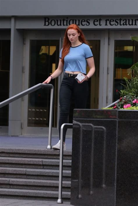SOPHIE TURNER Out and About in Montreal 06/29/2015 ...