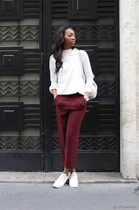 quelles chaussures porter avec un pantalon bordeaux With quelle couleur s associe avec le gris 15 pantalon bordeaux