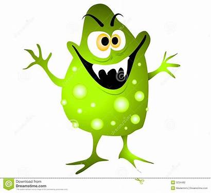 Virus Cartoon Clipart Germ Bacteria Microorganisms Clip