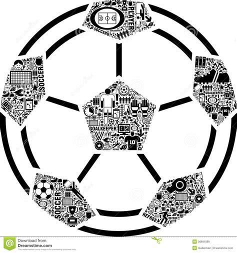 foto de Pallone Da Calcio Concettuale Illustrazione Vettoriale