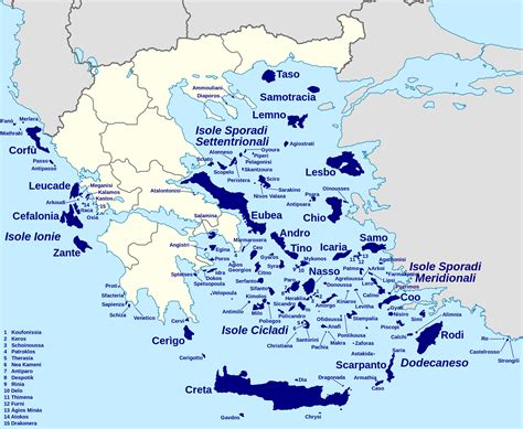 Are There In Greece by How Many Islands Are There In Greece
