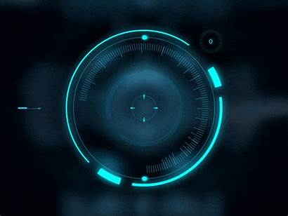 Ui Digital Animation Halo Interface Lens Futuristic