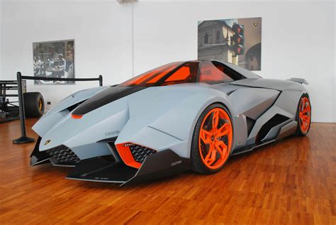 We get up close to the rare Lamborghini Egoista