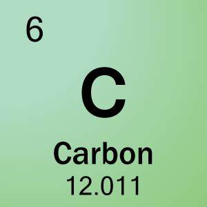 In a carbon atom, how many protons are found on its ...