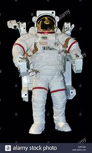 A NASA extravehicular mobility unit (space suit), used in ...