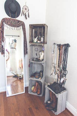 huacales dormitorio bohemio decoraciones de cuartos