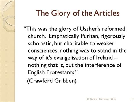 The Irish Articles Of Religion Of 1615