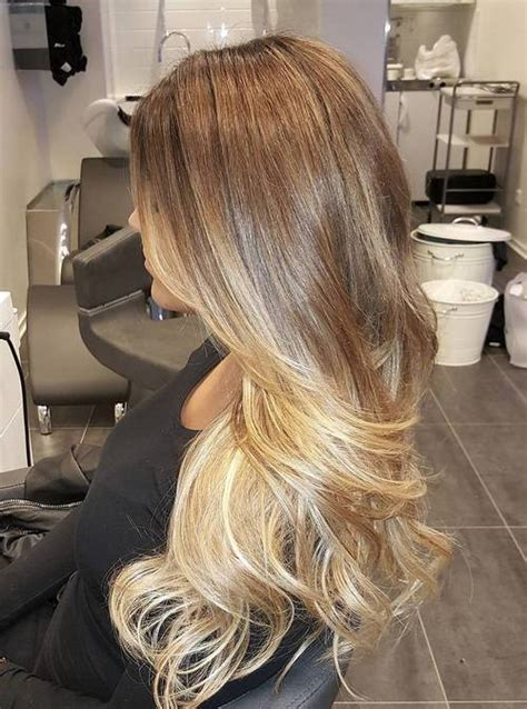 blond braun ombre ombre hair to charge your look with radiance