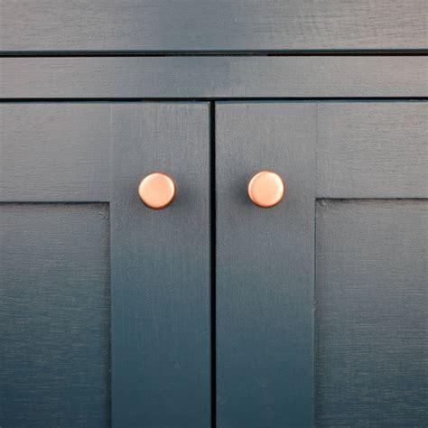 raised copper knob by proper copper design