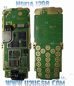 Nokia 1208 1209 Full Pcb Diagram Mother Board