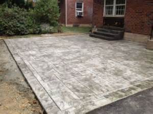 backyard sted concrete patio ideas 17 best ideas about