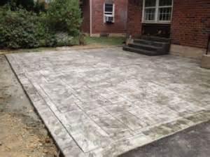 backyard sted concrete patio ideas 17 best ideas about