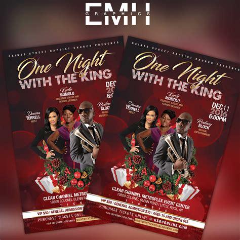 Christmas Gala Flyer - EMH Graphics