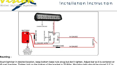 led light bar wiring diagram fuse box and wiring diagram