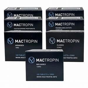 Pack Lean Mass Gain Advanced - Mactropin   Trenbolone Acetate  6 Weeks