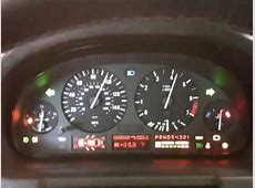 2001 BMW X5 Instrument Cluster Test YouTube