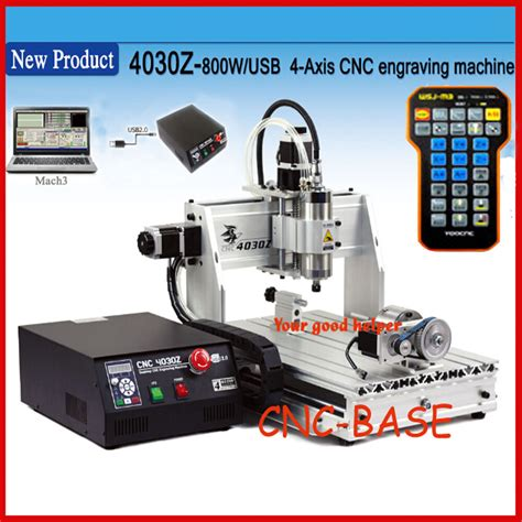 usb four 4axis 3040 800w cnc router engraver engraving milling carving machine ebay