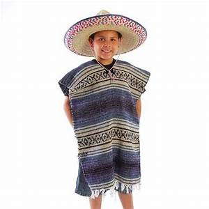 Child Size Traditional Poncho - No Sombrero | Jet.com