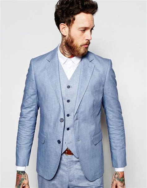 Linen Suit Styles - Mens Suits Tips