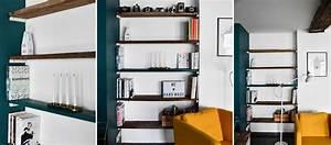 Etagere Sans Equerre : diy fabriquer des tag res en bois sans querre dans un renfoncement ~ Teatrodelosmanantiales.com Idées de Décoration