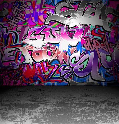 wall graphic illustration graffiti wall background