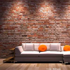 Mur En Brique Intérieur : d coration mur salon brique ~ Melissatoandfro.com Idées de Décoration