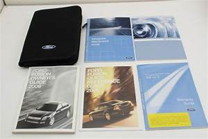 06 Ford Fusion Vehicle Owners Manual Handbook Guide Set
