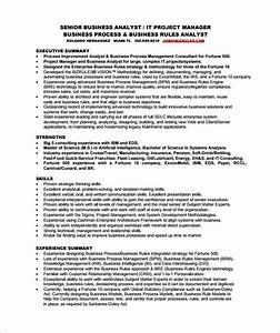 business analyst resume template 11 free word excel With business analyst resume sample