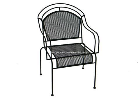 China Outdoor Wrought Iron Mesh Chair (c057) China