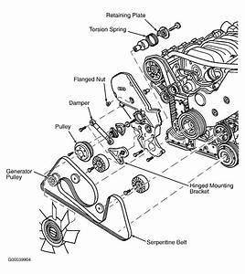 1997 Audi A8 Serpentine Belt Routing And Timing Belt Diagrams