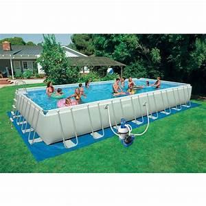 Piscine Tubulaire Intex : piscine intex silver ultra tubulaire achat ~ Nature-et-papiers.com Idées de Décoration