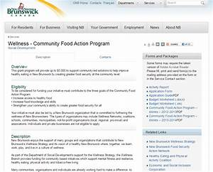 Community Food Action Program - The Wellness Movement | Le ...