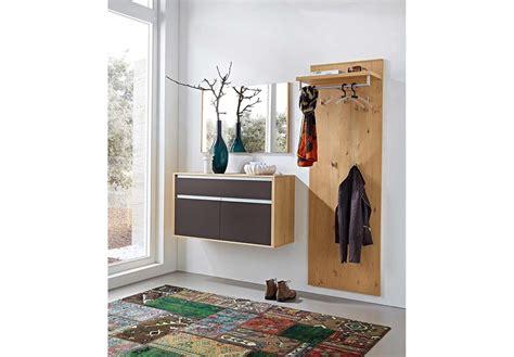 Bari Von Leinkenjost Garderobe In Glas Schoko & Eiche Bianco Garderoben-sets Online Kaufen