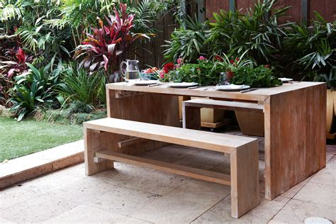 Home Painting Ideas Interior - do it yourself build a timber outdoor table australian handyman magazine