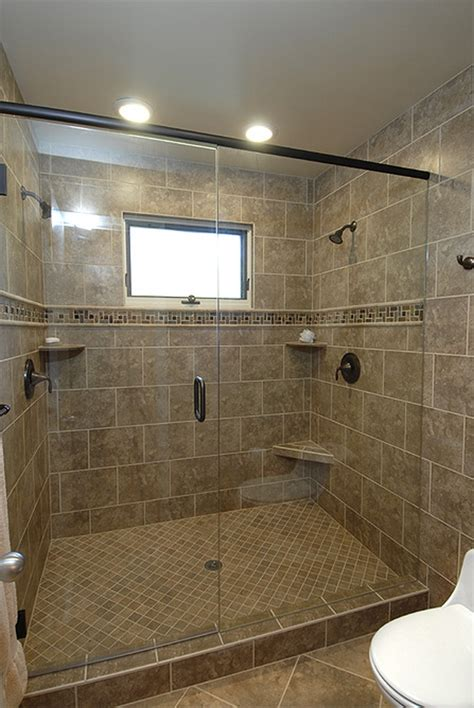 shower tile ideas modern and classic walk in shower without doors homesfeed