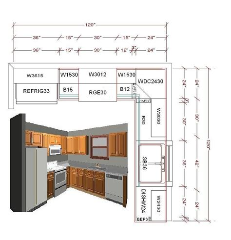 Kitchen Cabinet Floor Plans by 10x10 Kitchen Ideas Standard 10x10 Kitchen Cabinet